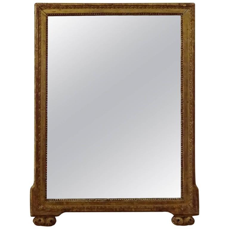 Louis XVI Style Giltwood Mirror For Sale