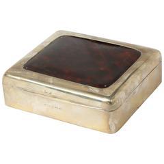 Mid-Century Tortoiseshell Box