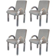 Set of Four Charles Hollis Jones Armchairs