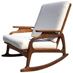 Great Rocking Chair in Style of Adrian Pearsall