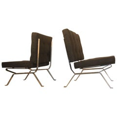Pair of Italian Mid-Century Armchairs Gastone Rinaldi for RIMA, 1950s