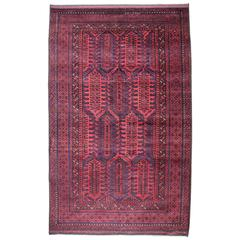 Early 20th Century Baluch Main Rug in Full Pile
