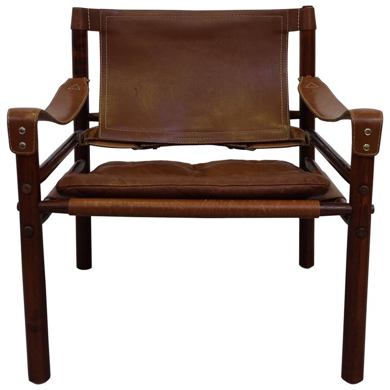 Arne Norell Safari Chair Model Sirocco