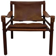 Arne Norell Safari Chair Model Sirocco