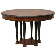 Rare Biedermeier Extendable Table