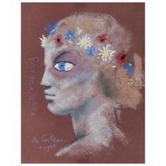 Jean Cocteau (Maisons-Laffitte, Milly-la-Forêt) Painting