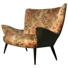 Elegant and Unique Sofas Mid-Century Italian Designer Paolo Buffa Attributed