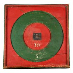 Early 20th Century Tavern Games Board