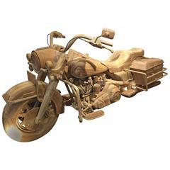 Fantastic Wood Motorbike