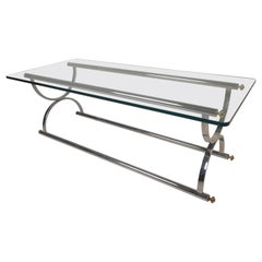 Mid-Century Modern Coffee Table in the Style of Maison Jansen