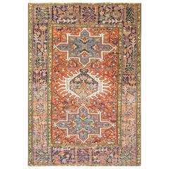 Antique Persian Karajah Rug