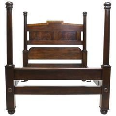 Queen-Size Reproduction of Four-Poster Bed by Thomas Day