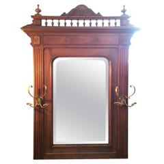 Henry II French Neo-Renaissance Style Mirror Large Size