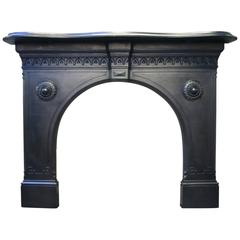 Restored Reclaimed 19th Century Victorian Fireplace Surround