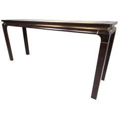 Mid-Century Console Table by John Stuart Inc