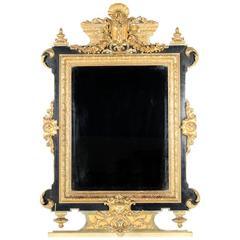 Impressive 19th Century Napoleon III Mirror Circa 1860