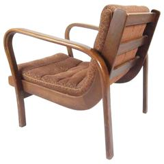 1940s Lounge Chair by Karel Kozelka & Antonin Kropacek