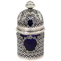 Sterling Silver Potpourri Jar Vase