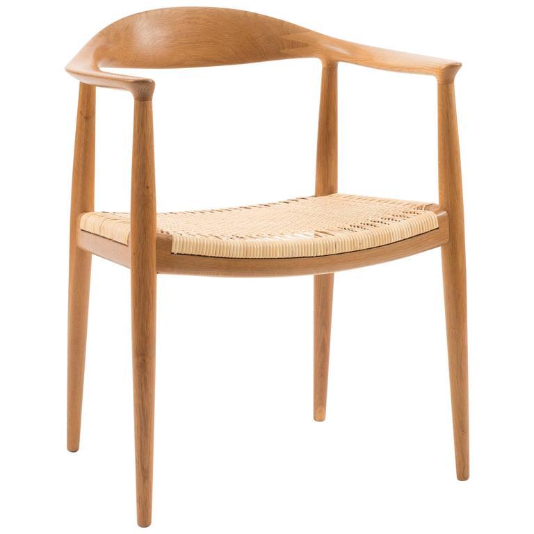 Hans J. Wegner 'the Chair' for Johannes Hansen