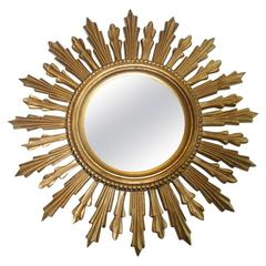 Starburst Sunburst Mirror Vintage, Italy