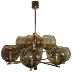 Mid-Century Modernist Chandelier by Hans-Agne Jakobsson