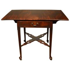18th Century Mahogany Pembroke or Supper Table