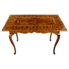 Game Table or Baroque, circa 1760 for Chess Checkers, Merels, Backgammon