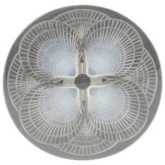 "René Lalique Opalescent ""Coquilles"" Pattern Plate"