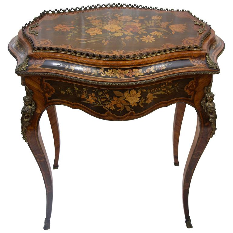 19th century louis xv style jardini re table for sale at 1stdibs. Black Bedroom Furniture Sets. Home Design Ideas