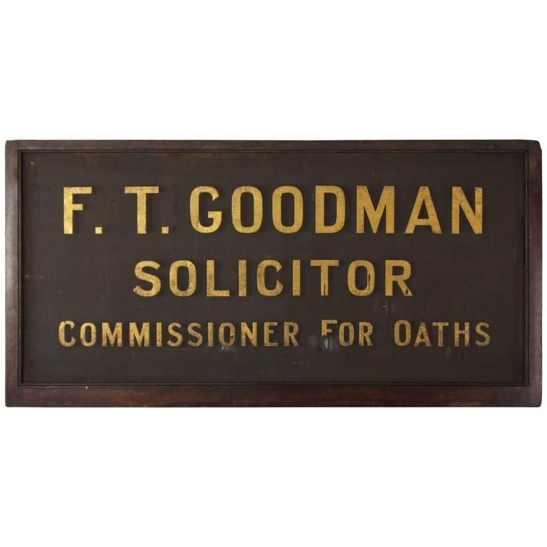 Early 20th Century Wood and Mesh English Advertising Sign