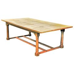 Custom-Made Walnut Dining Table
