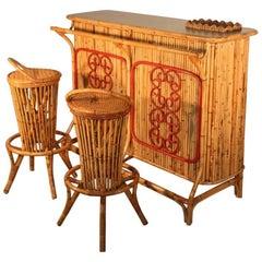 Bar Mid-Century Italian Design Bonacina Attributed