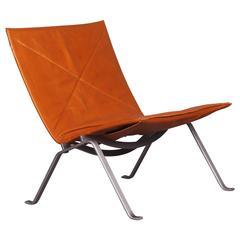 Lounge Chair by Poul Kjaerholm Pk 22 ed Christensen