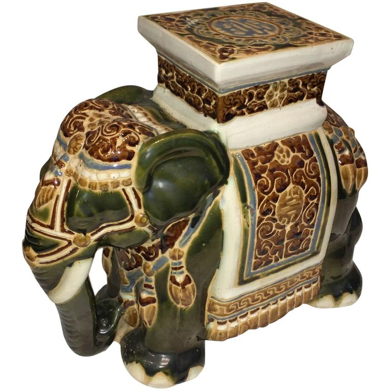 Elephant Garden Stool Or Side Table For