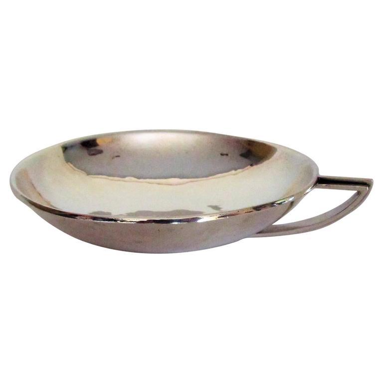Hans Hansen Art Deco Sterling Silver Bowl, Denmark, 1934 1