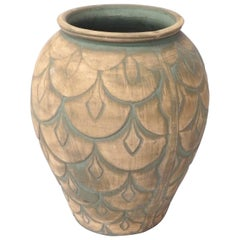 Art Deco Themed Floor Vase