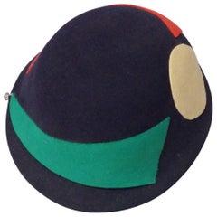 Art Deco Era Flapper Style Cloche Hat