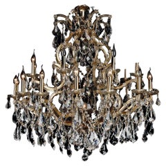20th Century Baroque Style Ceiling Chandelier