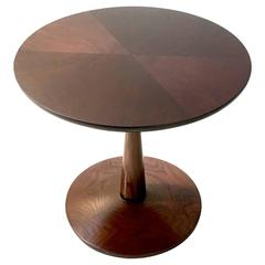 Pristine Occasional Table by Kipp Stewart in Walnut and Mahogany