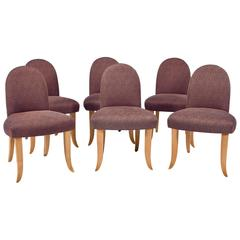 Set of Six Castle Side Chairs by Wendell Castle