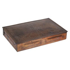 Early 20th Century Copper Plated Box