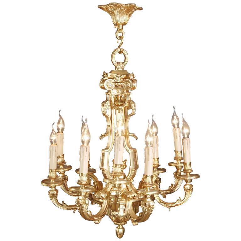 20th Century Louis XIV Style Chandelier