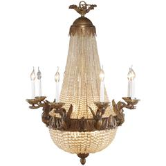 20th Century Empire Style Splendid Chandelier or Candelabra