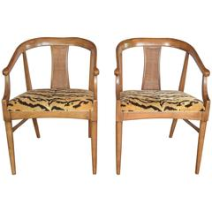 Pair of Midcentury Chairs by Lane