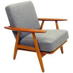 GE-240 Cigar Chair by Hans Wegner