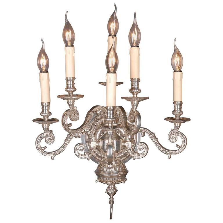 20th Century Louis XIV Style Baroque Wall Light