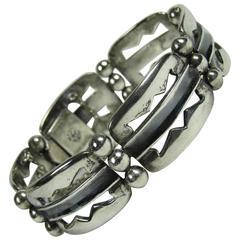 Vintage Mexican William Spratling Sterling Silver Bracelet
