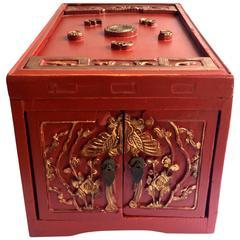 Chinese Antique Jewelry Box