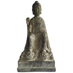 Antique Bronze Buddha