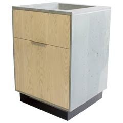 Hanks Concrete Bathroom Vanity Cabinet and Sink